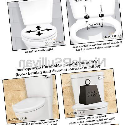 Bath Royale Br620 02 Premium Round Toilet Seat