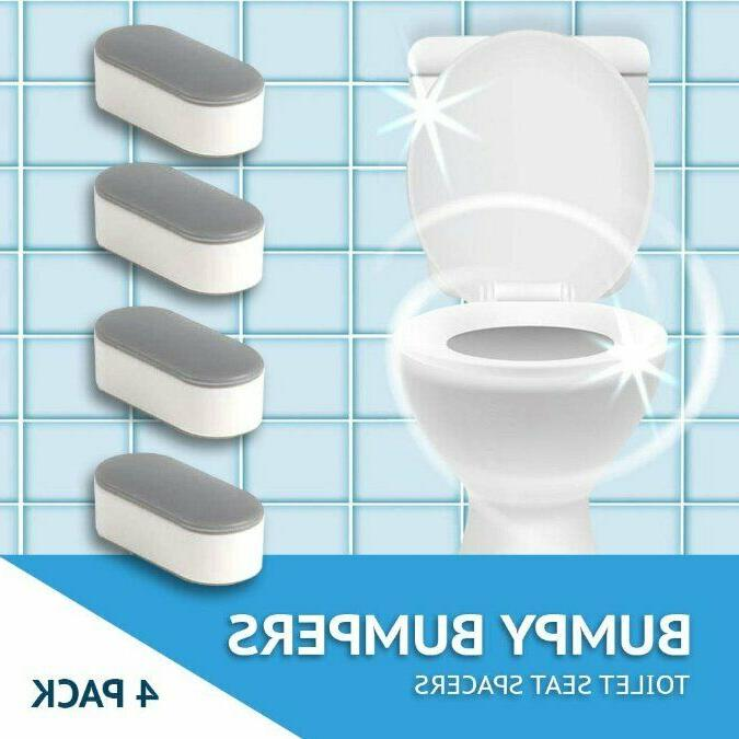 bumpy bumpers toilet seat spacers 4 pack