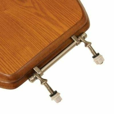 Comfort C1B2E1-17BN Finish Toilet Seat Light Oak