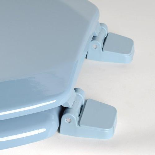 Comfort Seats Molded Wood Toilet Elongated,