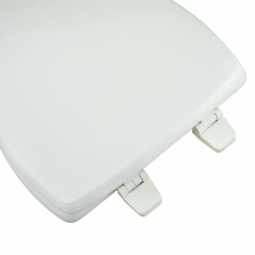 Comfort MDF Rounded Seat and Stainless Hinges,