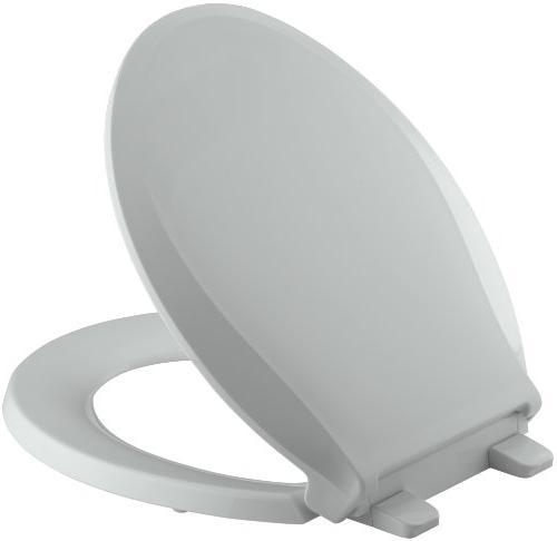 Cachet Quiet-Close Round-Front Toilet Seat with Quick-Releas
