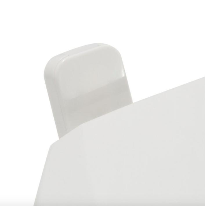 Cadet Round Seat - Finish: White