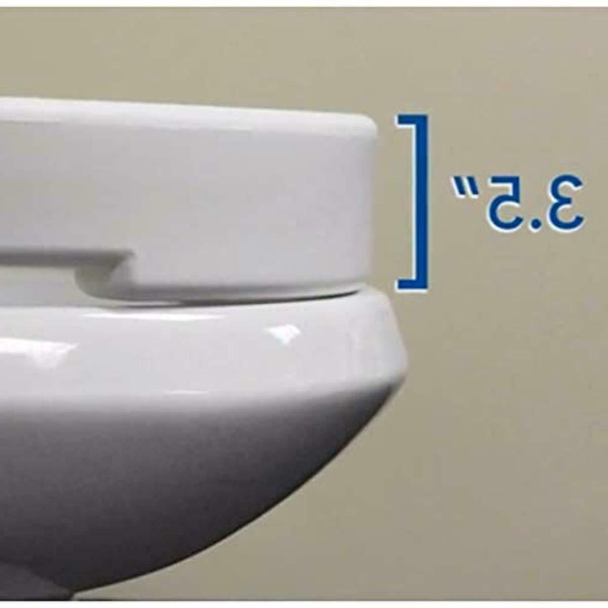 Carex Hinged Toilet Seat Riser - Lift, 300