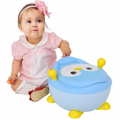 Children Kids Toilet Training Seat Blue Portable