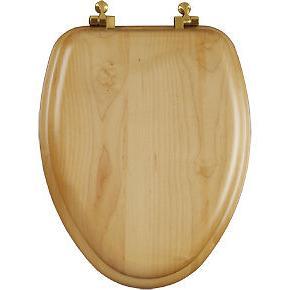 Church Elongated Toilet Brass