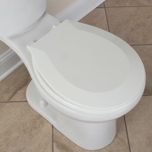 CLOSED FRONT TOILET SEAT Round Replacement Plastic