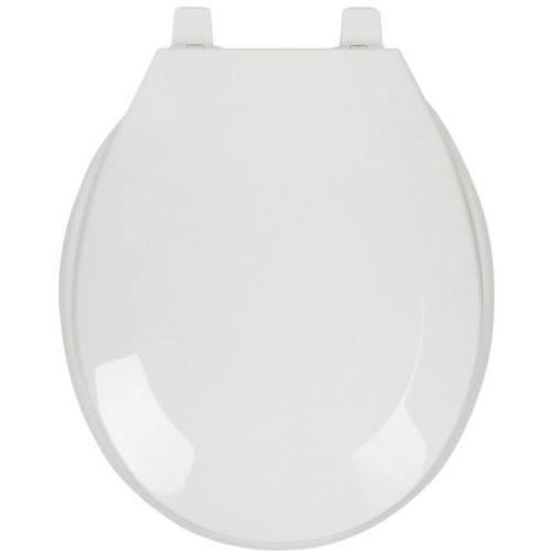 CLOSED FRONT TOILET SEAT Round Replacement Bathroom Durable