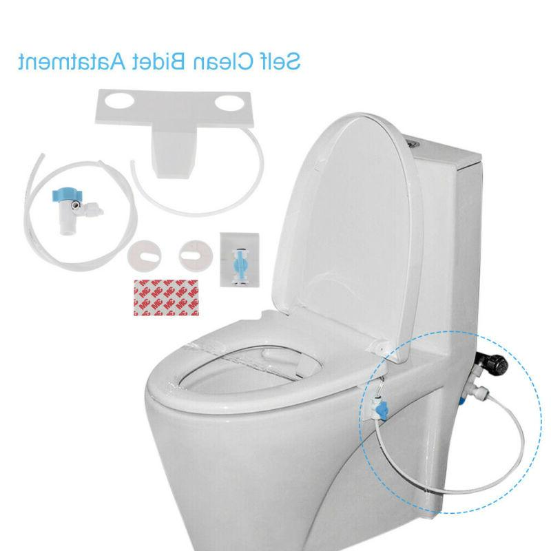 Cold Water Spray Non-Electric Mechanical Toilet Seat Attachment