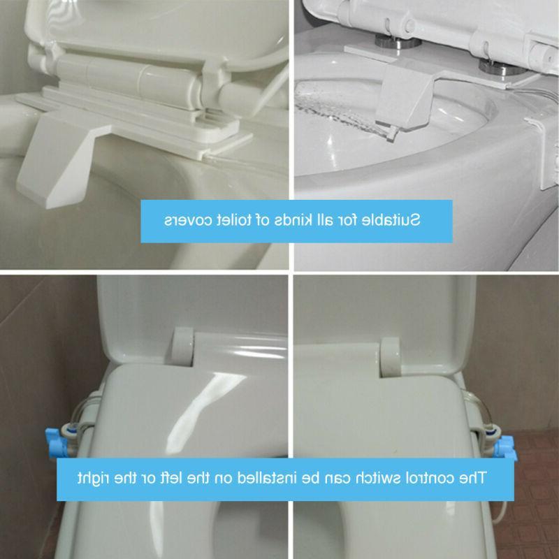 Cold Mechanical Bidet Toilet Attachment