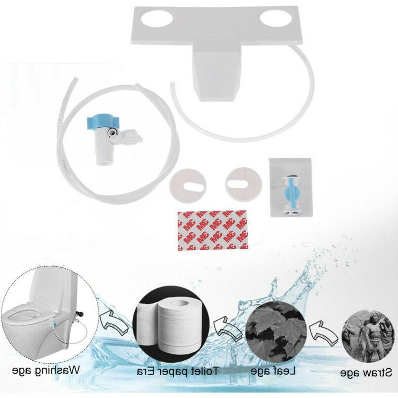 Cold Water Mechanical Bidet Toilet Attachment Bathroom