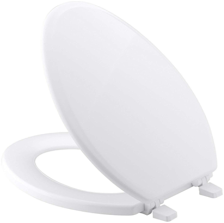 Aqua CTS104W Wood Toilet Seat White Sealed