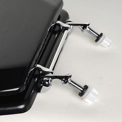 Deluxe Wood Toilet Seat, Adjustable Hinges