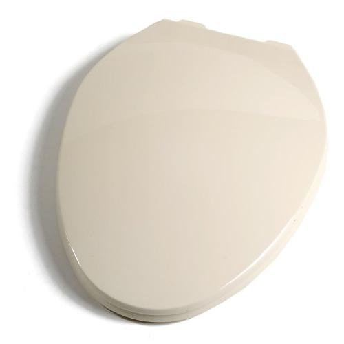 Deluxe Plastic Elongated Contemporary Toilet Seat - Finish: