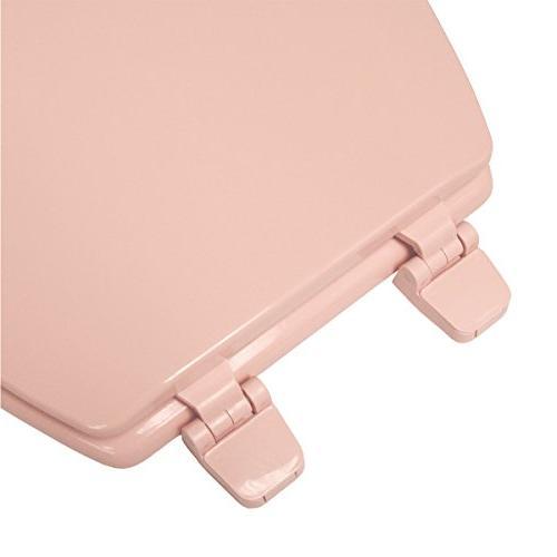 Deluxe Pink Round Toilet