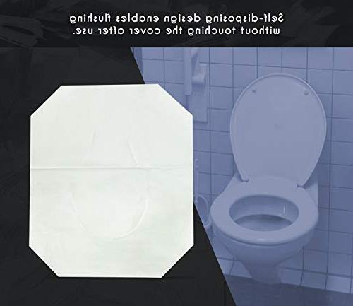 Paper - Disposable - Toilet - White Pack x