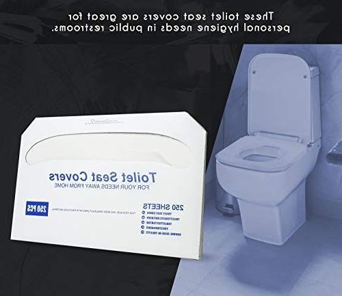 """Paper Toilet - Disposable Toilet - - Pack 250-14""""L x"""