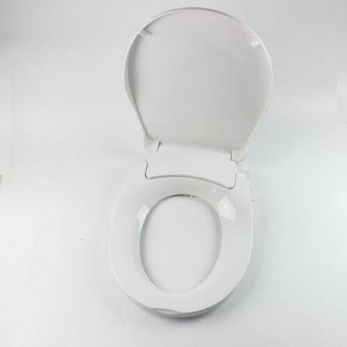 dual nozzle bidet toilet seat attachment spray