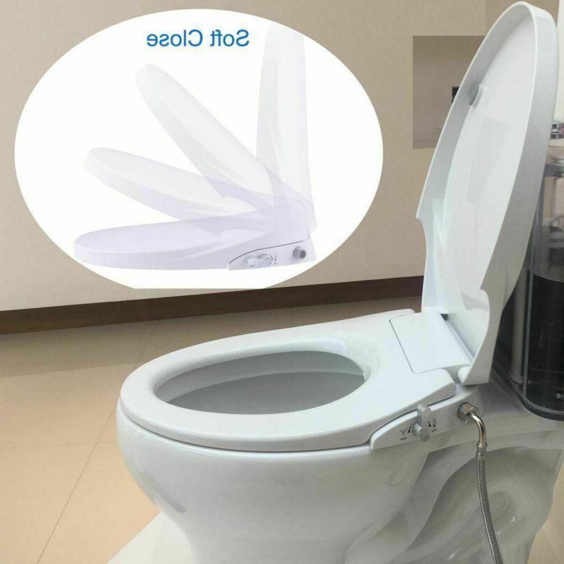 Bidet Seat, Non Electric, Sleek Simple Install