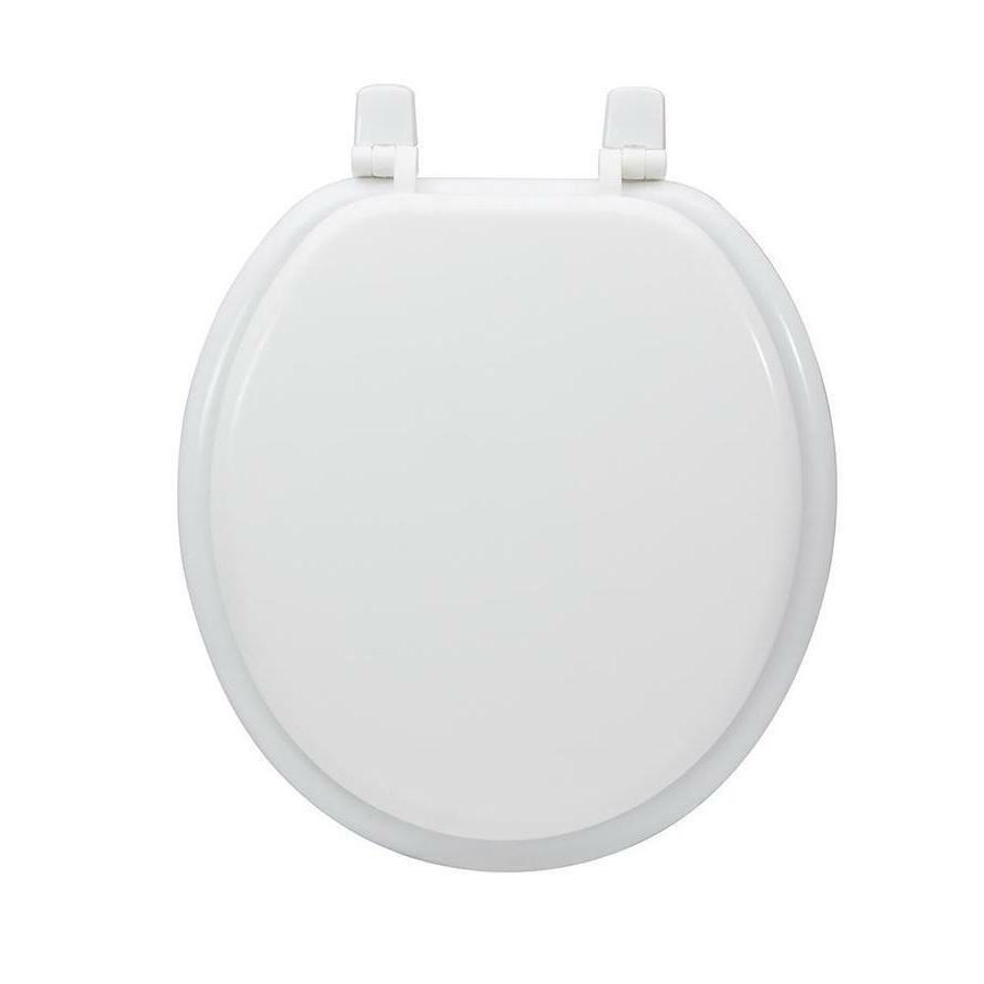 durable white wood high gloss finish round