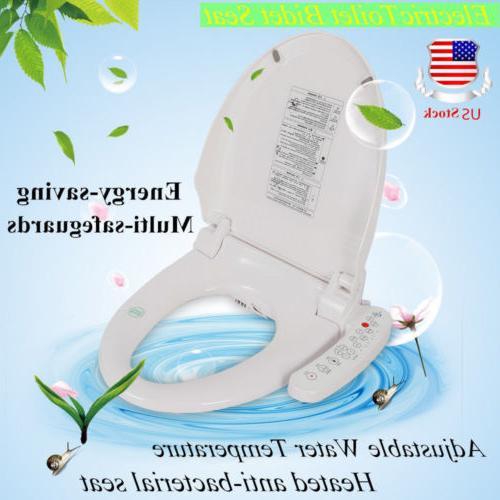 electric smart bidet toilet seat elongated heated