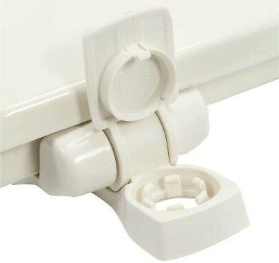 Toilet Seat Linen Slow Front Lift Durable