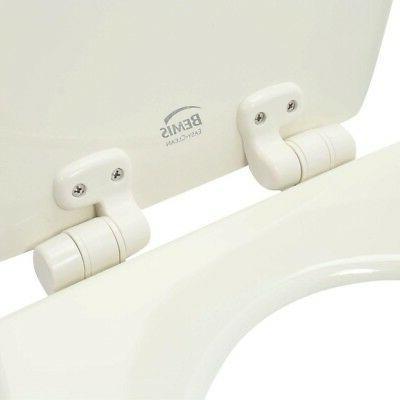 Toilet Elongated Linen Slow Lift Off Flip Durable
