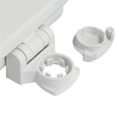 BEMIS ELONGATED TOILET SEAT REPLACEMENT Hinge Lift Oval