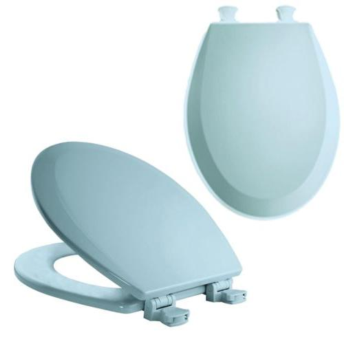 BEMIS TOILET SEAT REPLACEMENT Lift Oval Blue