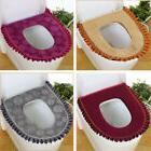 Fashion zipper Toilet Seat Covers Mat Bath Cushion Pads Bath