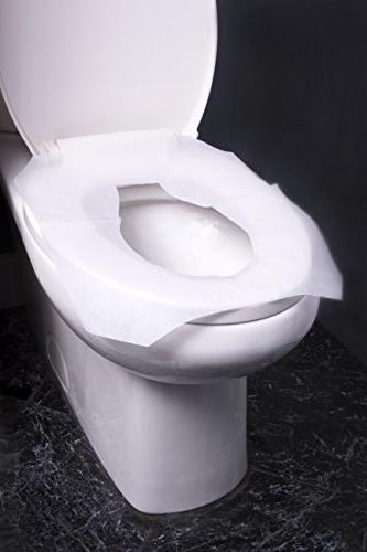 Alpine Industries Flushable Disposable Toilet - 250 Box - Boxes 750 Sheets