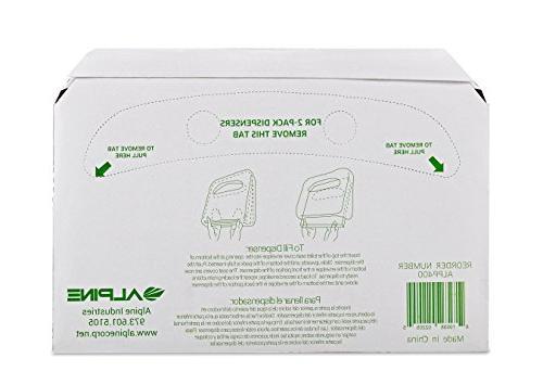 Alpine Toilet - 250 Sheets Per - Boxes 750 Sheets Total