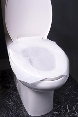 Excellent Alpine Industries Flushable Disposable Toilet Seat Covers Machost Co Dining Chair Design Ideas Machostcouk