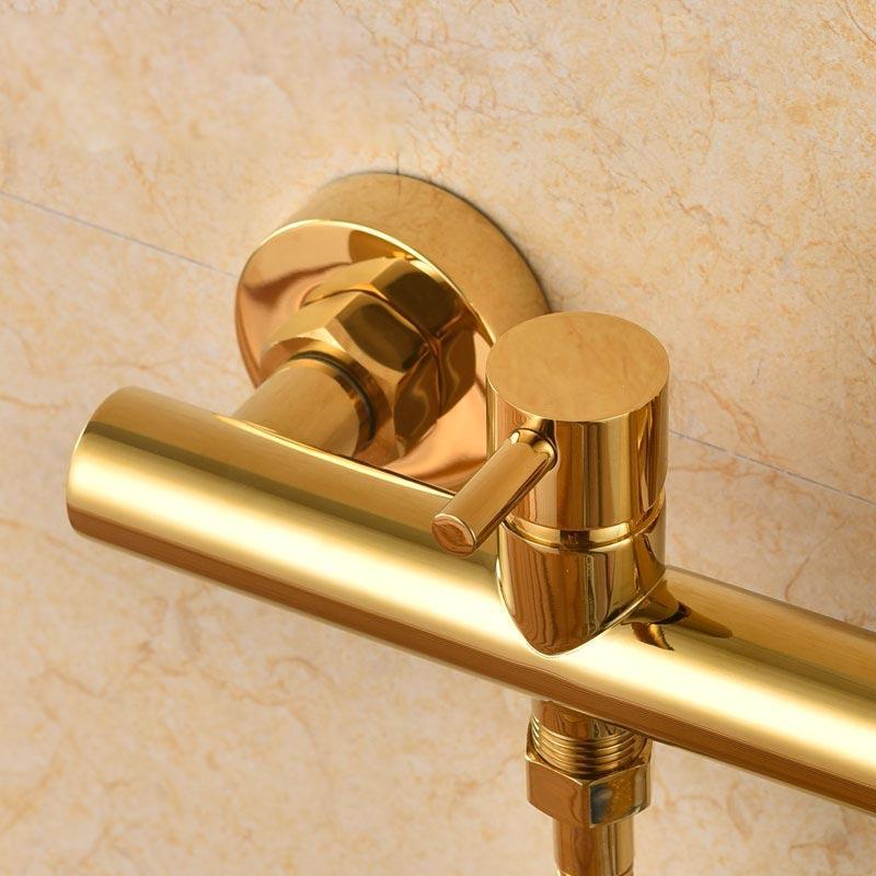 <font><b>Brass</b></font> <font><b>Toilet</b></font> Spray Shower With Mixer Chrome Gold bidet faucet nozzle