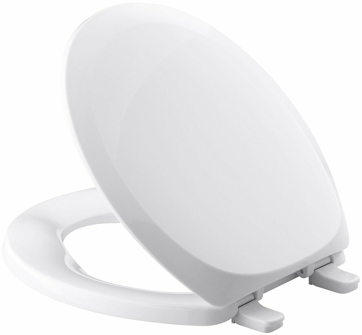 French Curve Round Closed-Front Toilet Seat and Cover - Fini
