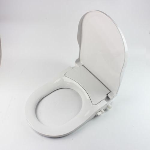 Dual Bidet Seat Attachment Spray Non-Electric O-Shape HOT
