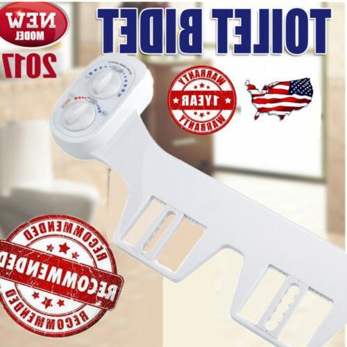 Bidet Toilet Seat Attachment Non-Electric Mechanical Fresh W