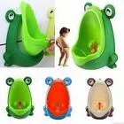 frog kids potty toilet for boys pee