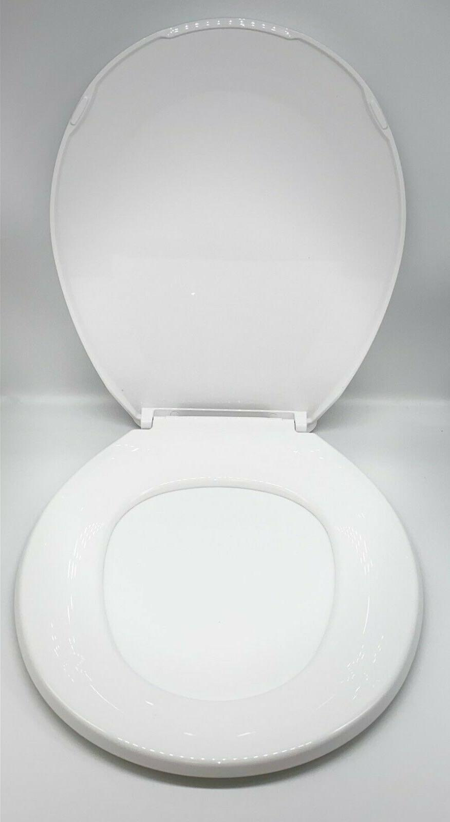 Heavy Toilet Seat Replacement With White