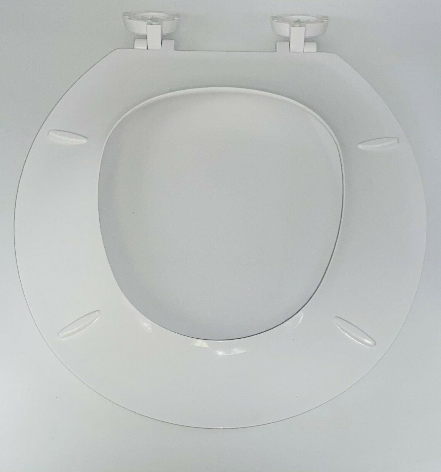 Heavy Duty Toilet Replacement Cover With Lid, Round White