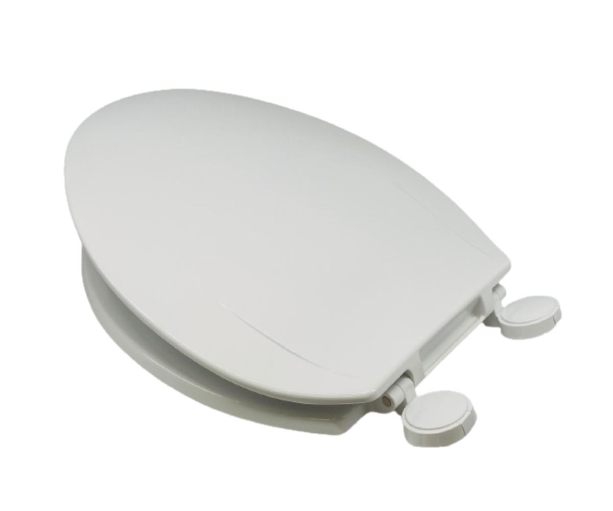 OneStock Heavy Front Toilet Seat Cover Oval