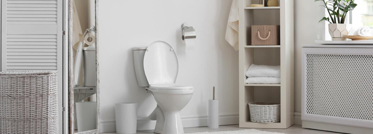 OneStock Heavy Front Toilet Seat Oval