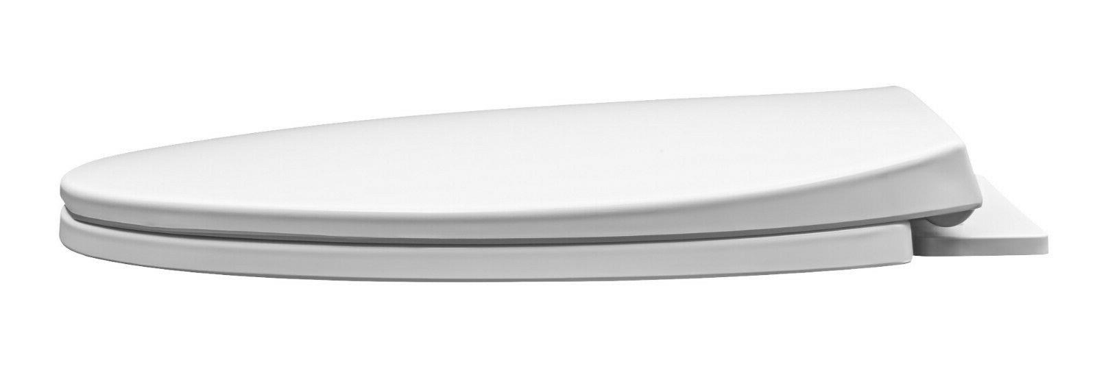 Winfield Duty Toilet Seat Elongated, & Clean, Close