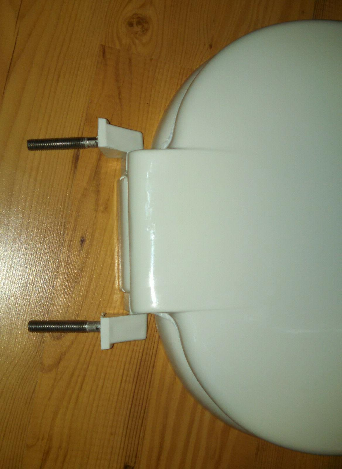 Beneke Heavy Duty Solid Plastic Round Seat 420 H - White