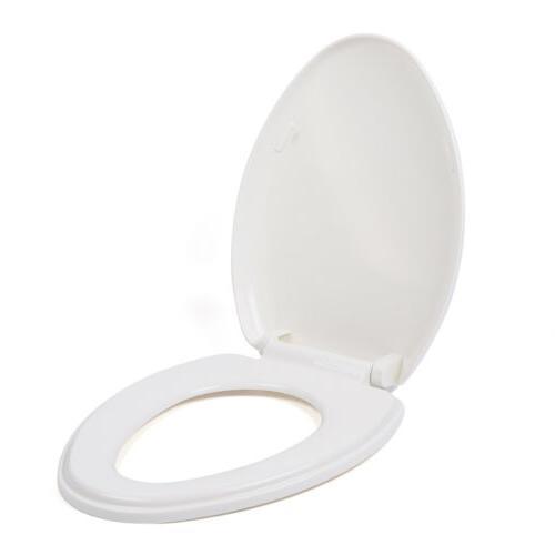 V-Shape Toilet Seat Soft Slow Close Inner ring 205mm PP Fits