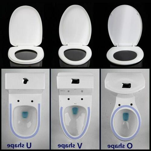 heavy duty toilet seat round elongated slow