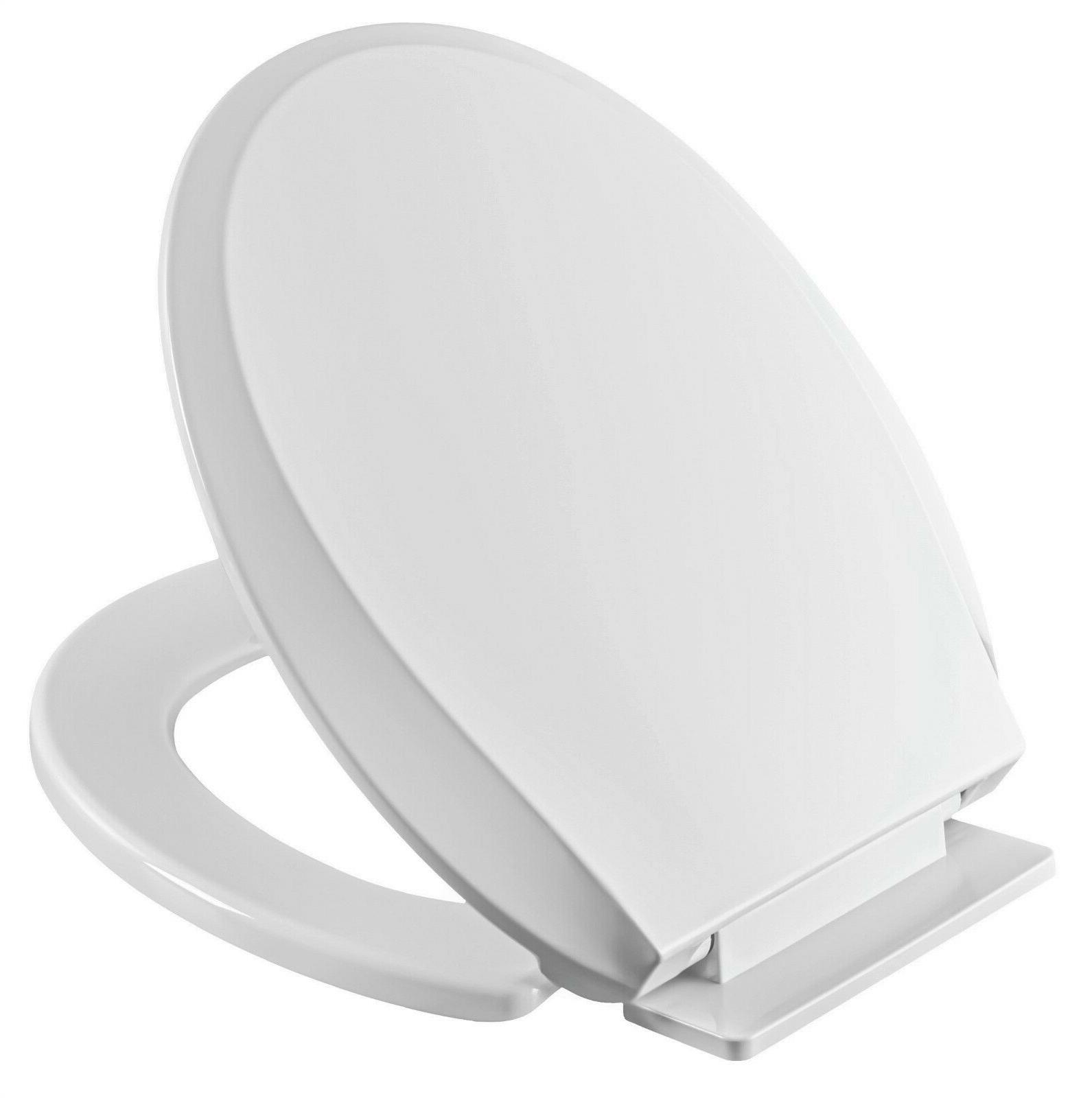heavy duty toilet seat round elongated slow