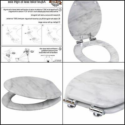 High Quality Sanilo Elongated Toilet Seat Wide Choice of Slo