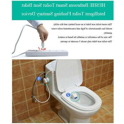 Hydraulic Toilet Seat Cold Fresh Water Attachment
