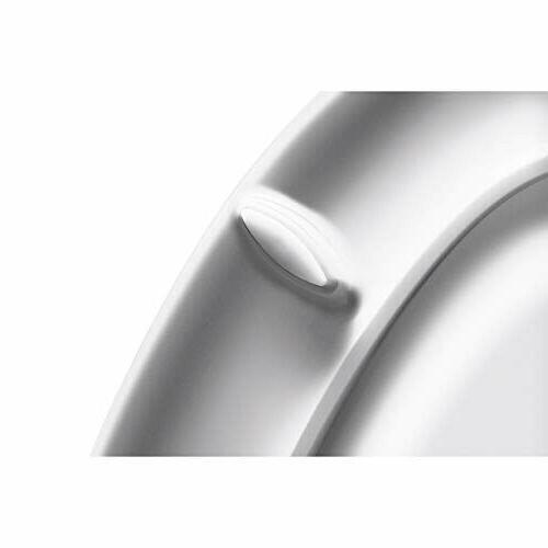 KOHLER K-4636-0 White Toilet with Grip-Tight Bumpers,